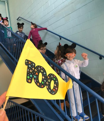 Celebrating 100 days of learning!
