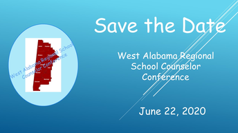 Save-the-Date: West Alabama Regional School Counselors' Conference