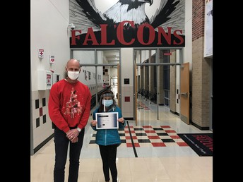 C-O-N-G-R-A-T-U-L-A-T-I-O-N-S  to sixth-grader Avishree Dutta for winning the Annual Fowler Spelling Bee!