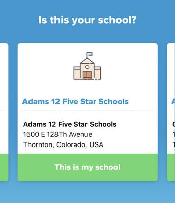 Choose Adams 12 Schools