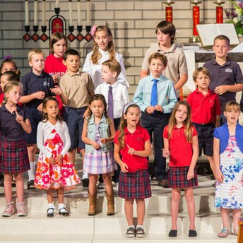Welcome back to our new musical year at Red Hill Lutheran Church!  Children's Choir starts next week. (Participation is FREE.)