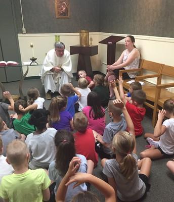 1st Grade Chapel Mass