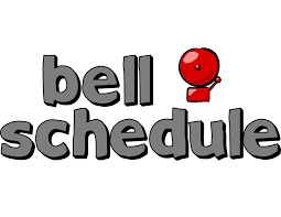 New Bell Schedule for the 2019-2020 School Year