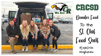 Clayton Ridge Food Drive