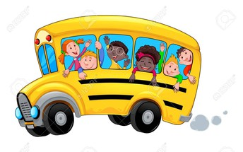 Arriving to School By Bus