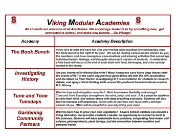 Viking Modular Academies Are Back!; Link To All Courses in PDF Below