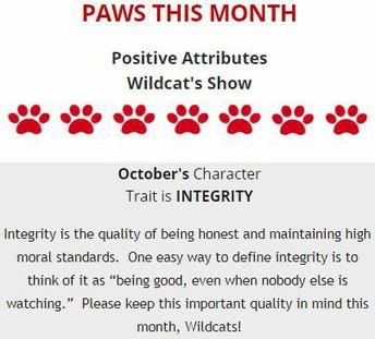 PAWS del mes: Integridad