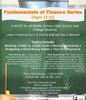 Youth Finance Series
