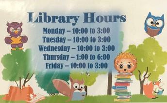 Lending Library hours