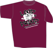 PTA Spirit Wear: Maroon  T - Shirt
