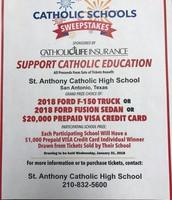 Catholic Life Schools Sweepstakes
