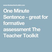 One Minute Sentence