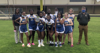 PPS Girls Track Team Places 1st in the District