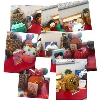 Mrs. Broams's Class- Pumpkin Book Reports