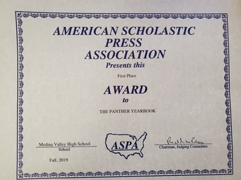 Yearbook Wins Another Award