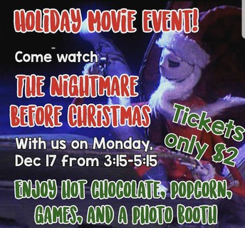 Holiday Movie Event