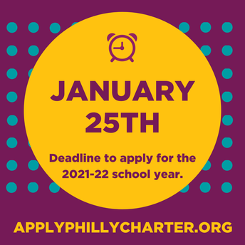 School Lottery Application Deadline: 1/25