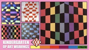 Optical Illusion Weaving