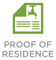 Proof of Residency Changes
