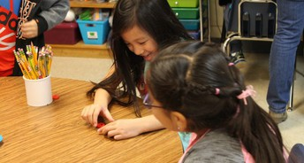 Students Bloom in Spanish Immersion Classroom