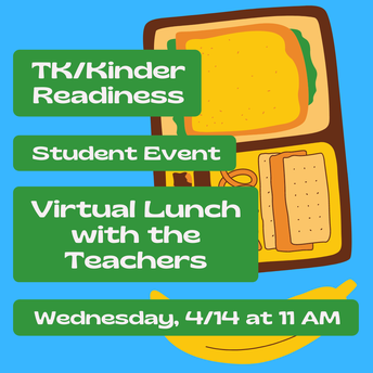 Virtual Lunch With The Teachers