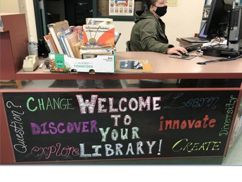 Check Out Our Library Webpage!