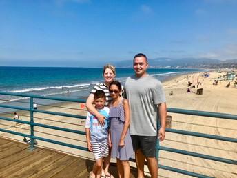 Vacationing in California