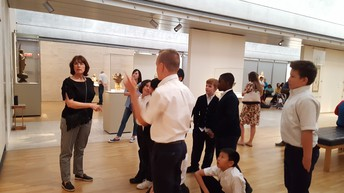 5th Grade trip to the Kimbell