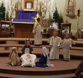 The Nativity was complete