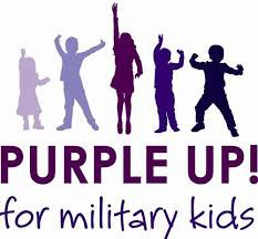 Purple Up for Military Kids - April 18th