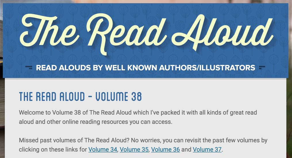 The Read Aloud - Volume 38