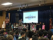 Pre-K Leading Mindfulness @ Pillow School Assembly