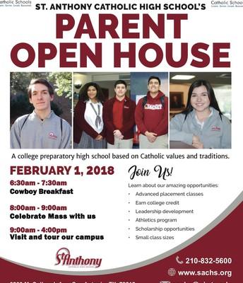 2018-2019 Parent Open House