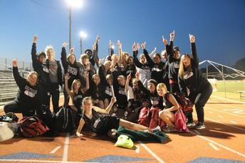 8th Grade Track Wins District