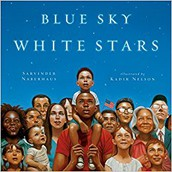 Blue Sky, White Stars