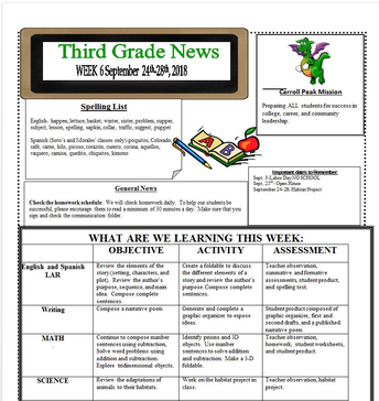 Third Grade!!!