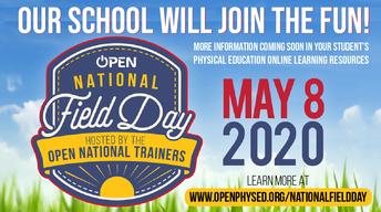 Join Mrs. Perry for National Field Day