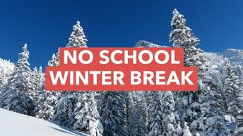 Winter Break Reminder (2 more weeks of school)