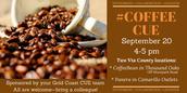 September 20-- CoffeeCUE