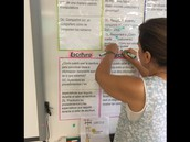 Highlight Academic Vocabulary and have examples available.
