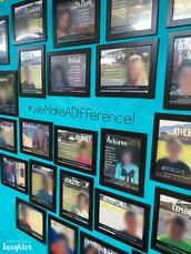 Student Photo Wall