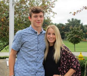 Mr. Kooper Ciszewski and Miss Haley Hooley