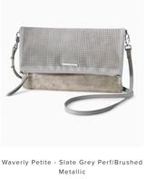 Waverly Petite - Slate Grey/Brushed Metallic