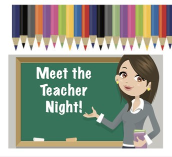 Don't Miss Meet The Teacher This Thurs. 6pm, SBS Cafe