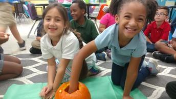 Pumpkin Hands