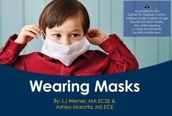 Wearing Masks printable story
