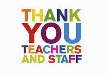 Staff Appreciation Week - THANK YOU!!