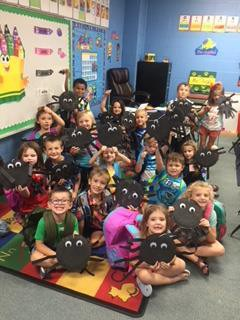 "Mrs. Hight's Class and ""The Itsy Spiders"""