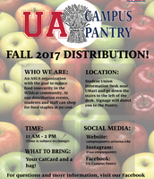 Campus Pantry Fall Distribution Information