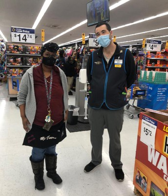 Brad Perry, Walmart Store Manager